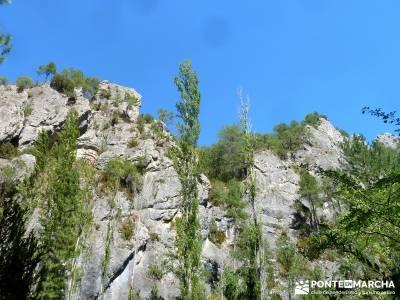 Hoz del Río Escabas - Serranía de Cuenca (Senderismo refrescante);rutas para caminar rutas senderi